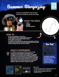 STEAM activity 2: Summer Stargazing (Science)
