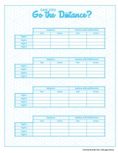 STEAM activity 10 worksheet